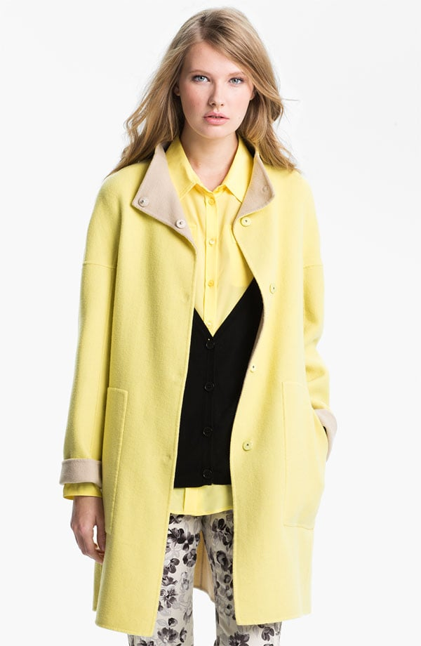Even though I live in LA, I get cold very easily, so I'm counting on this Max Mara reversible coat ($775) to keep me warm (but not superhot) and stylish. I love that it's reversible and I equally dig both the yellow and beige colors. — Melody Nazarian, Style & Trends editor