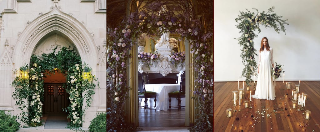 These Spectacular Floral Wedding Arches Break the Mold