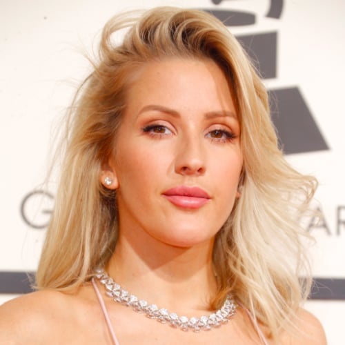 Ellie Goulding Hair and Makeup at the 2016 Grammy Awards