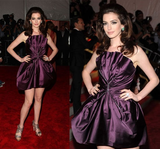The Met's Costume Institute Gala: Anne Hathaway