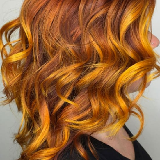 Rainbow Balayage Hair Color Inspiration