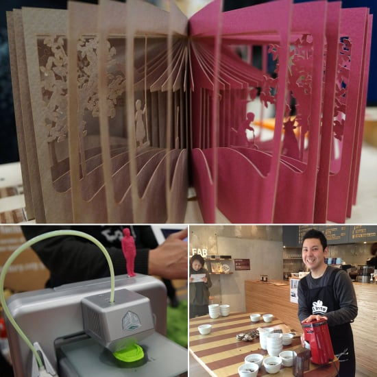 FabCafe, a Collaborative 3D Vision For Coffee Shops