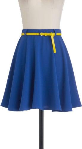 Have a Cobalt Skirt