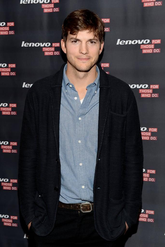 Ashton Kutcher = Christopher Ashton Kutcher