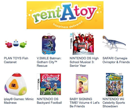 Rent A Toy Program