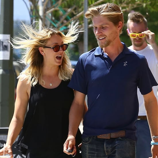 Kaley Cuoco and Karl Cook Hold Hands in LA August 2016
