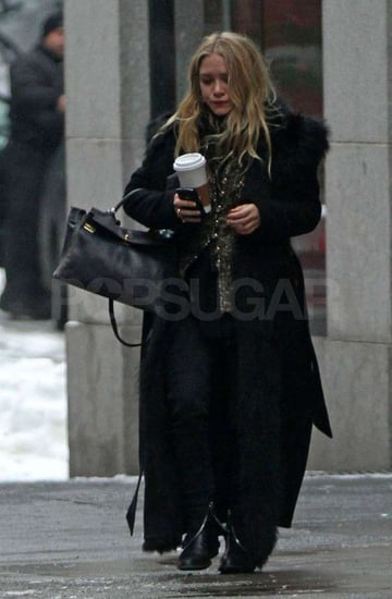 Pictures of Mary-Kate Olsen Making a Coffee Run in NYC