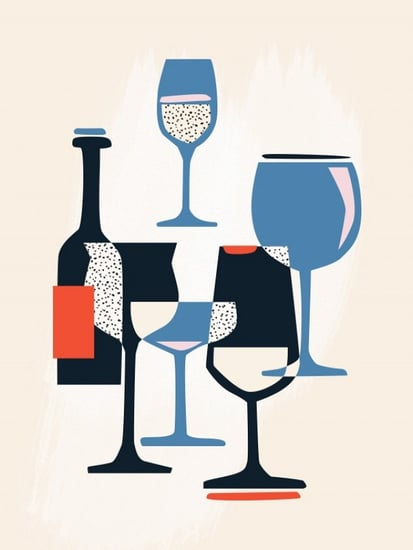 The Illustrated Guide to Wineglasses That Every Hostess Should Know
