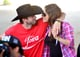 Ashton Kutcher and Mila Kunis couldn't have been any cuter at the Stagecoach Country Music Festival, where Mila showed off her baby bump.