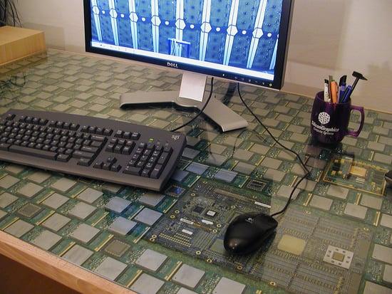 Moment of Geek: CPU Desk