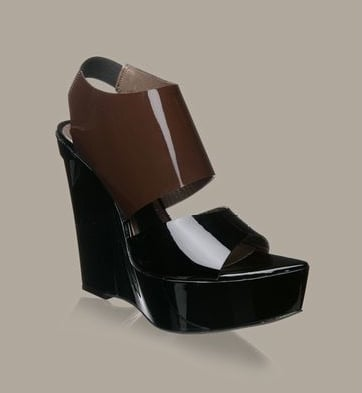 The Look For Less: Marni Patent Runway Wedge