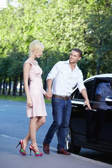 Opening the Car Door