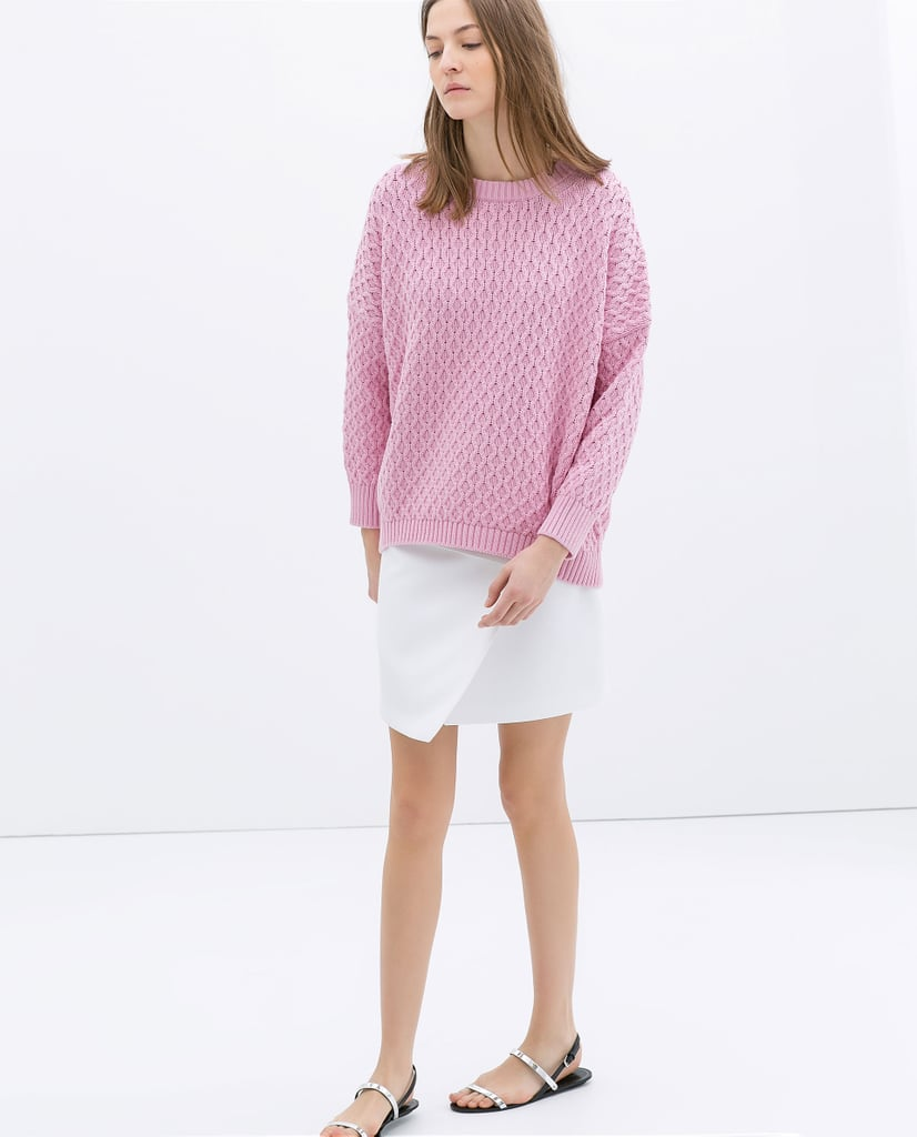 Cable Stitch Oversize Sweater ($60)