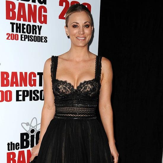 Kaley Cuoco at Big Bang Theory's 200th Episode Event