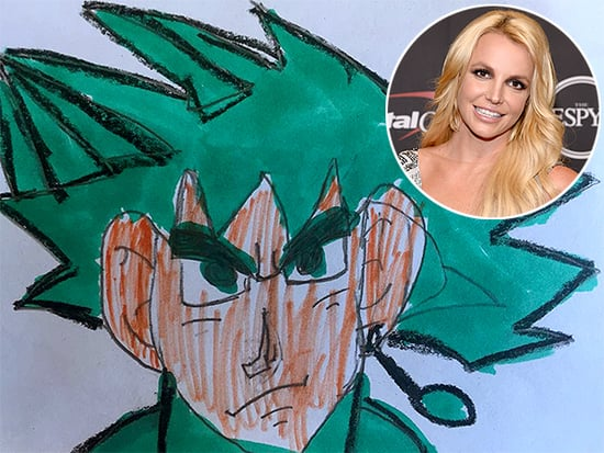 Proud Mom Britney Spears Shares Her Son's Artwork - See the Cool Drawing