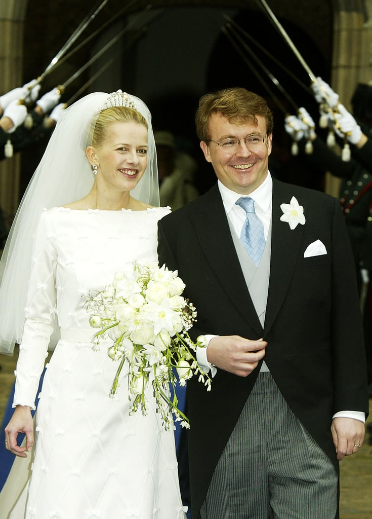 Prince Johan Friso and Mabel Wisse Smit The Bride: Mabel Wisse Smit, who has worked on international humanitarian efforts before and after her marriage. The Groom: Prince Johan Friso, second son of Queen Beatrix of the Neatherlands. When: April 24, 2004. Prior to the wedding, the prince did not ask for permission from the Dutch Parliament after revelations that his bride was connected to a known drug lord, so he was officially kicked out of the Dutch royal family, although he and Mabel still use titles. Where: Delft, a typical Dutch town.