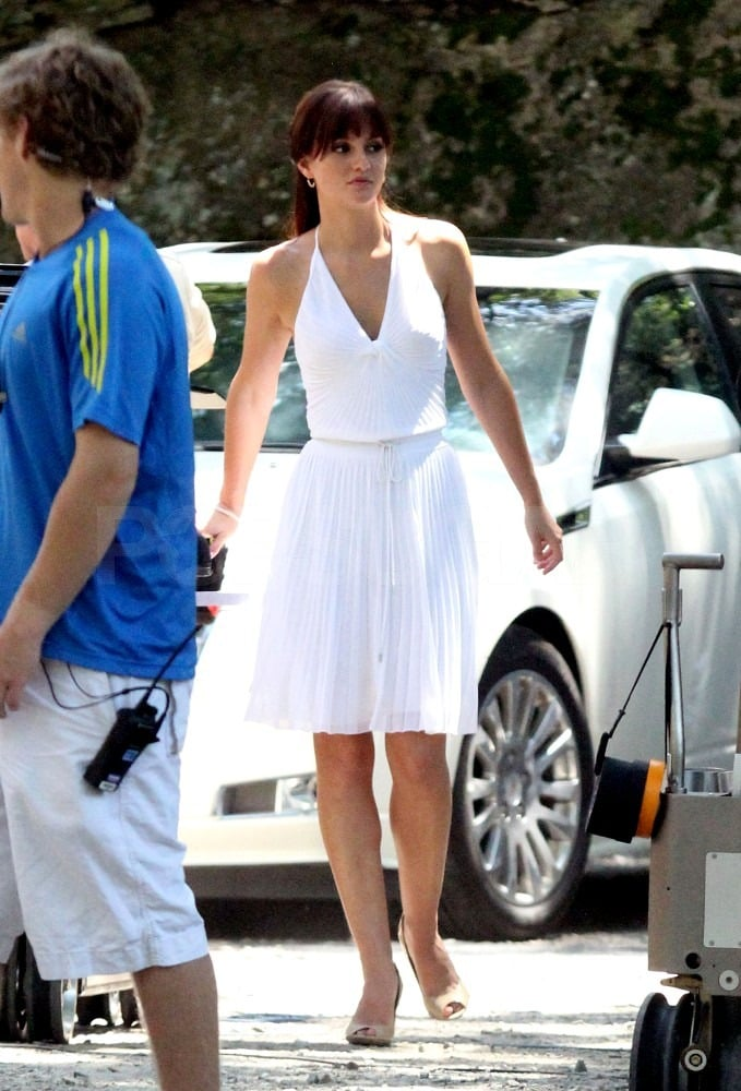 Leighton Meester Gets Down to Work on I Hate You, Dad in Boston