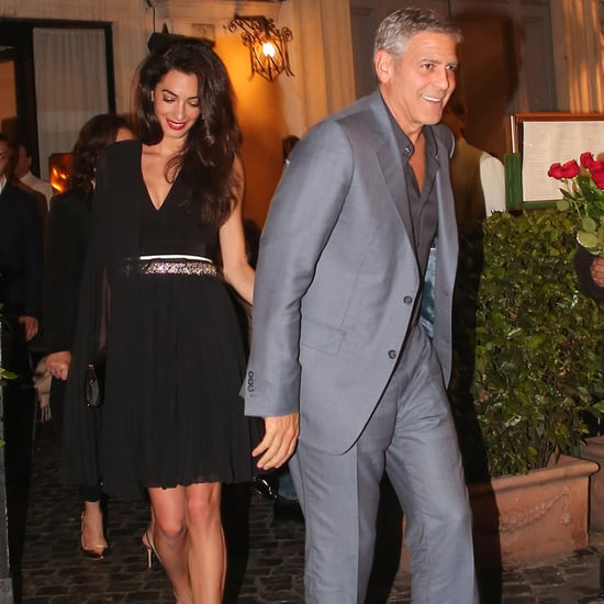 George and Amal Clooney Out in Rome May 2016 | Pictures