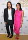 Diego Luna and Rosario Dawson posed for a snap at the NHMC Impact Awards Gala.