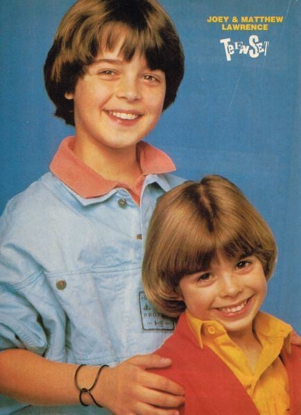 Joey and Matthew were cute right from the start. Those smiles!