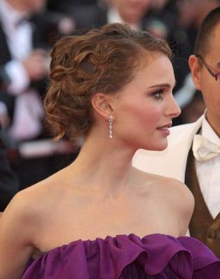 Love It or Hate It? Natalie Portman's Curly Updo