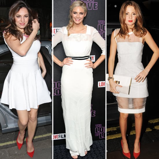 Celebrities Wear White Before May Day