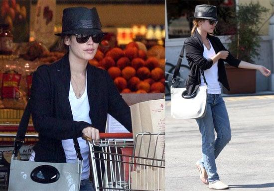 Photos of Rachel Bilson Shopping at Gelsons