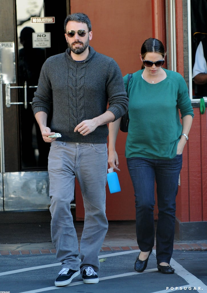 Ben Affleck and Jennifer Garner were out and about for errands together in LA.
