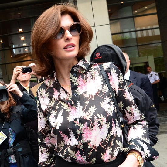 Linda Evangelista Testifies in Child Support Case