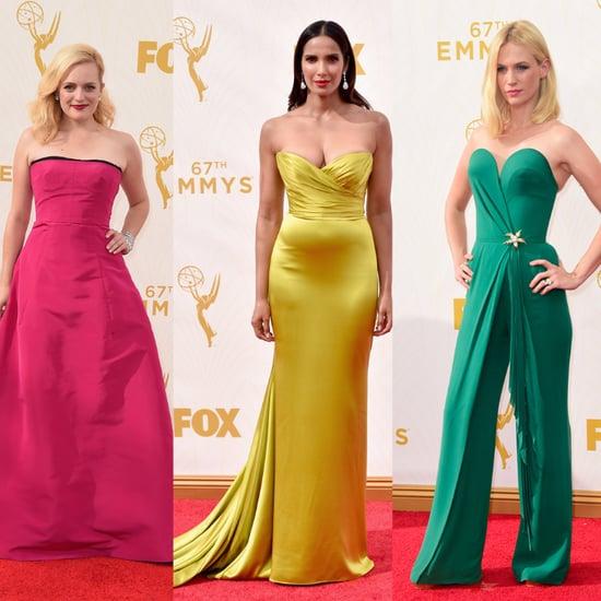 Rainbow Dresses at Emmys 2015