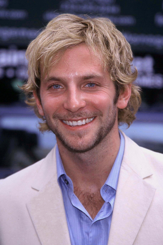 Who knew Bradley was a blondie in 2001?