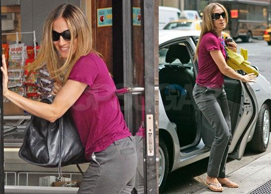 Photos of Sarah Jessica Parker in New York City