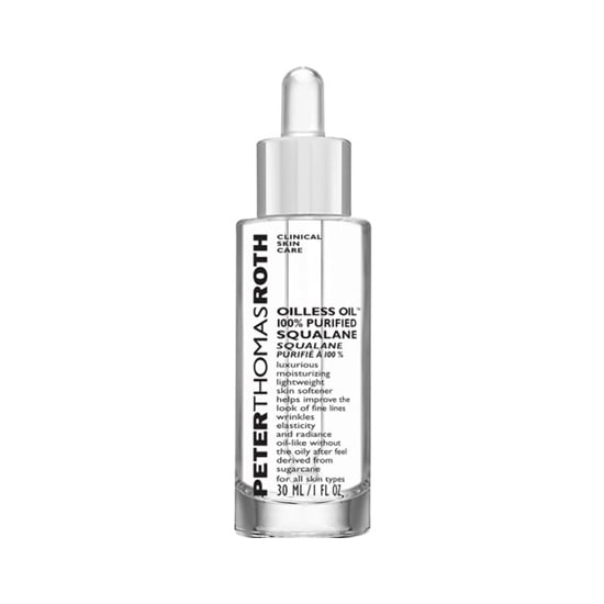 I've got some bad news: you're aging! As we get older, we lose moisture. Peter Thomas Roth Oilless Oil 100% Squalane ($38) mimics the natural squalene you once had with extracts sourced from sugar cane (not shark liver like some other brands). It's the perfect addition to your Winter skin care routine. — JC