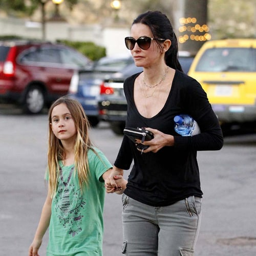 Courteney Cox and Daughter Coco in Malibu | Pictures