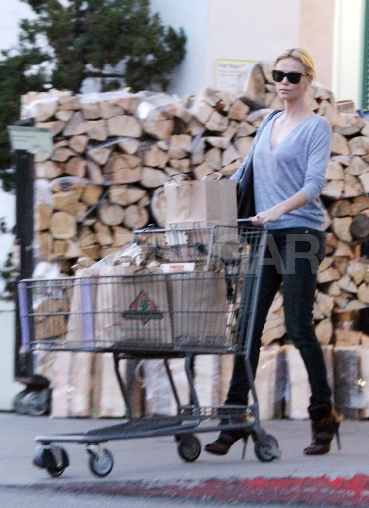 Charlize Theron Grocery Shops in Style and Gets a New Role