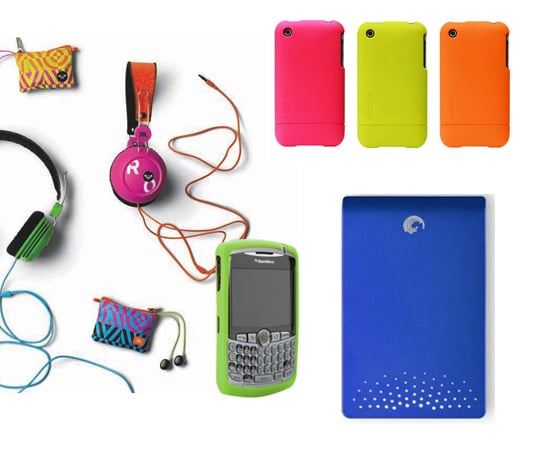 Hot For Summer! Neon Gadgets and Accessories