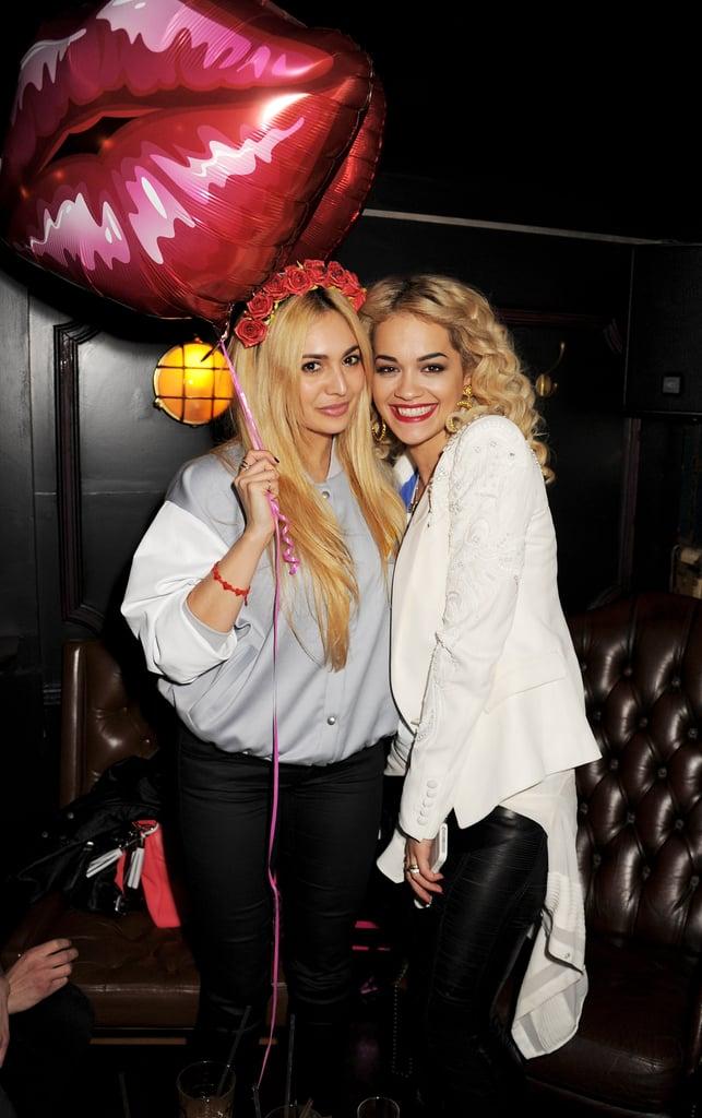 Zara Martin and Rita Ora