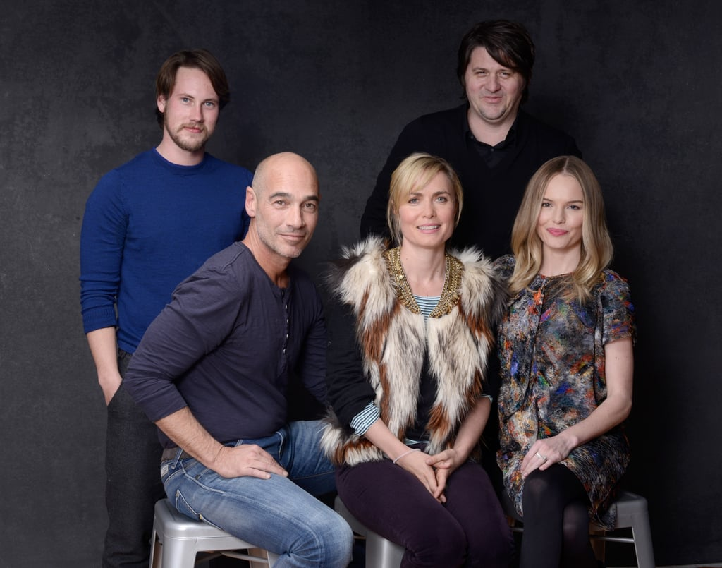 John Robinson, Radha Mitchell, and Kate Bosworth posed for portrait photos to promote Big Sur at the Sundance Film Festival in Park City.