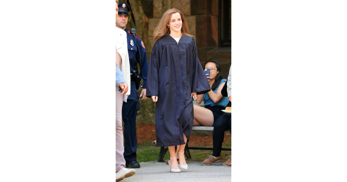 Celebrity Gossip News Emma Watson Graduates From Brown University Popsugar Celebrity
