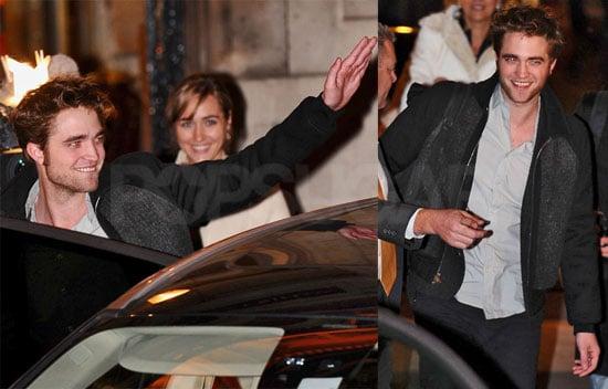 Photos of Robert Pattison Leaving His Hotel in Paris