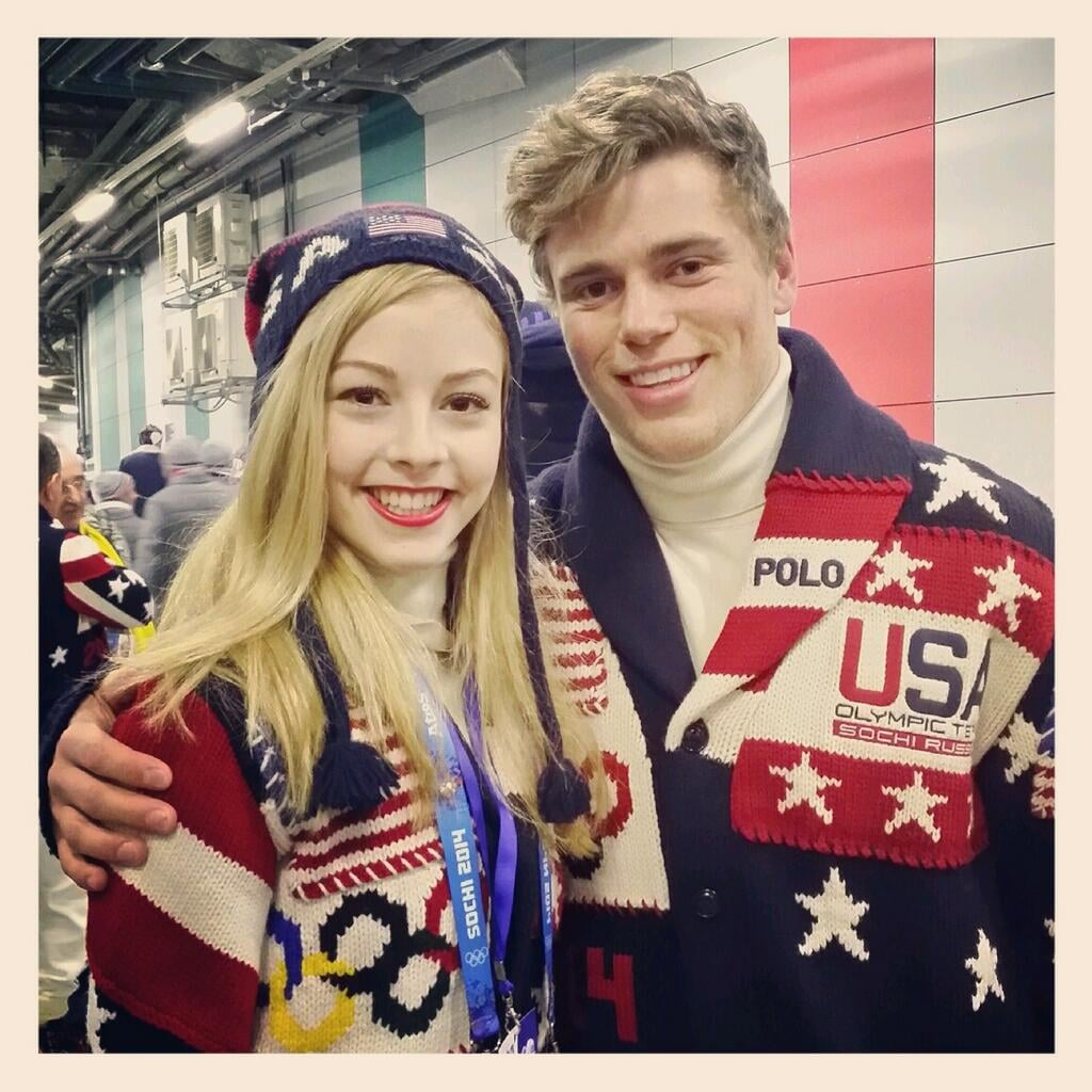 She's friends with your Olympic crush.