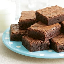 Indulge with Rich Fudgy Brownies