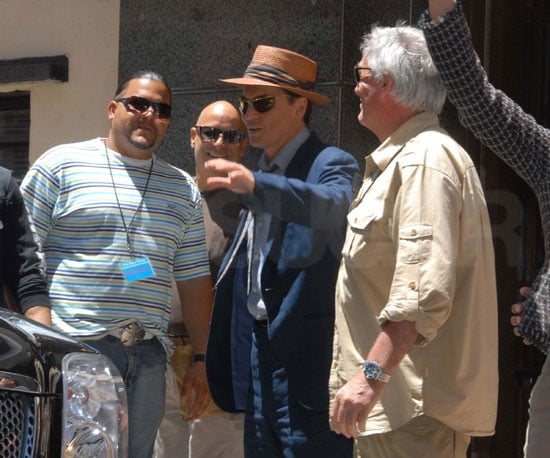 Photo of Johnny Depp on the Set of The Rum Diary 2009-04-02 04:30:00