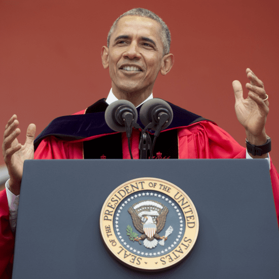 Obama Bashes Trump During Commencement Speech at Rutgers