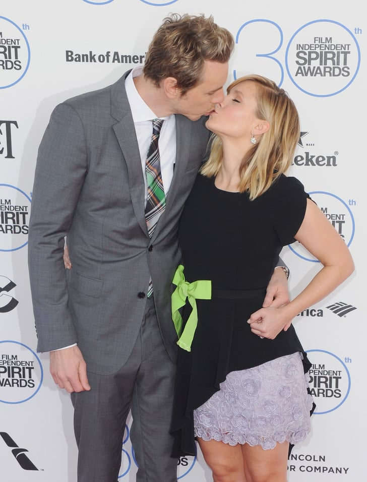 The duo shared a sweet moment on the red carpet at the Spirit Awards in 2015.