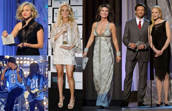 Carrie and Brad Make the CMAs a Nashville Night to Remember