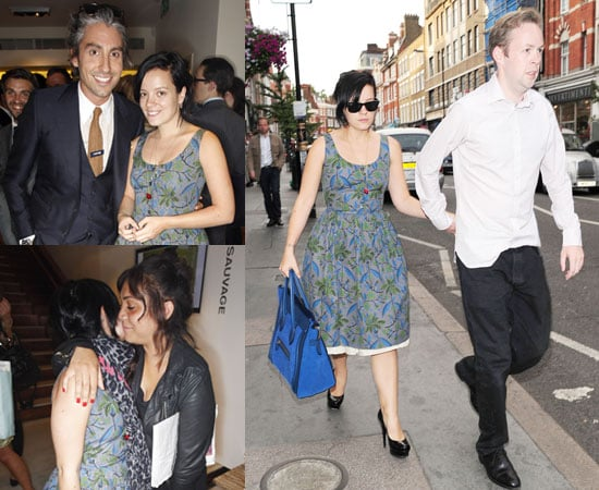 Pictures of Lily Allen and Boyfriend Sam Cooper Plus Miquita Oliver and George Lamb and Matches Store Party in London