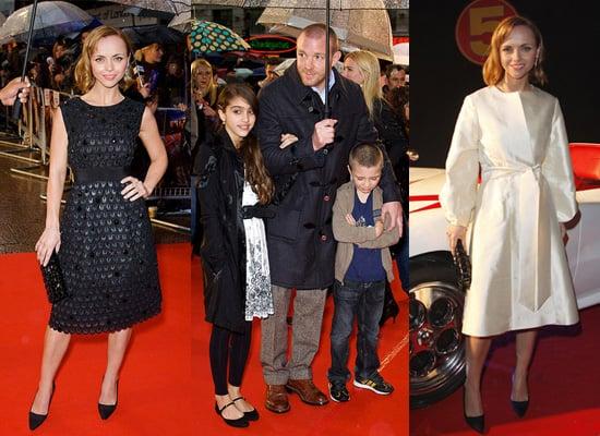 UK Speed Racer Premiere in London
