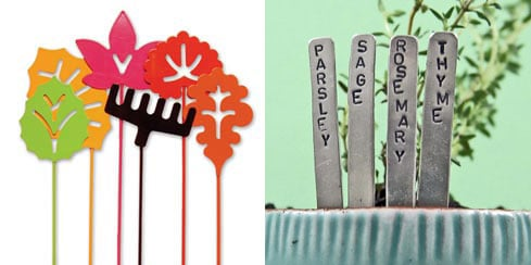 Garden Stakes With Style