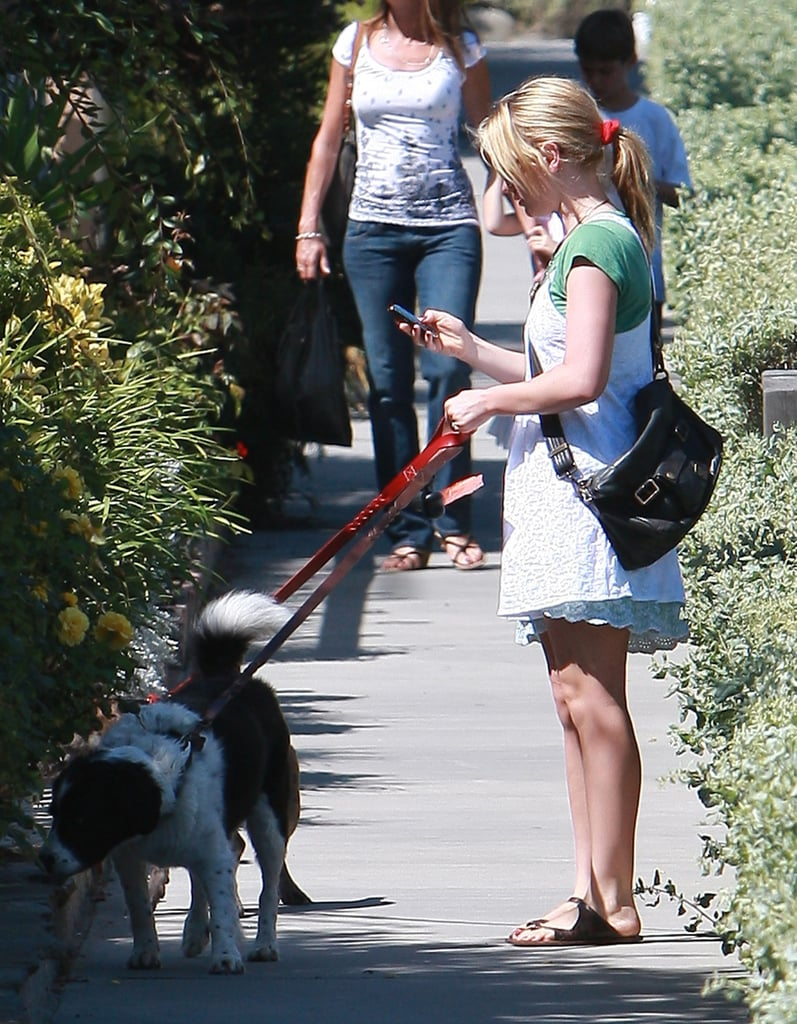 Photos of Anna Paquin With her Dogs